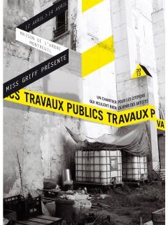 affiche Travaux Publics 2013