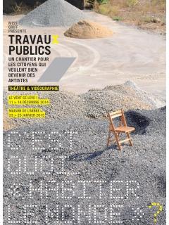 affiche Travaux Publics 2014-15